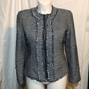 Christopher and banks jacket/top lined Large